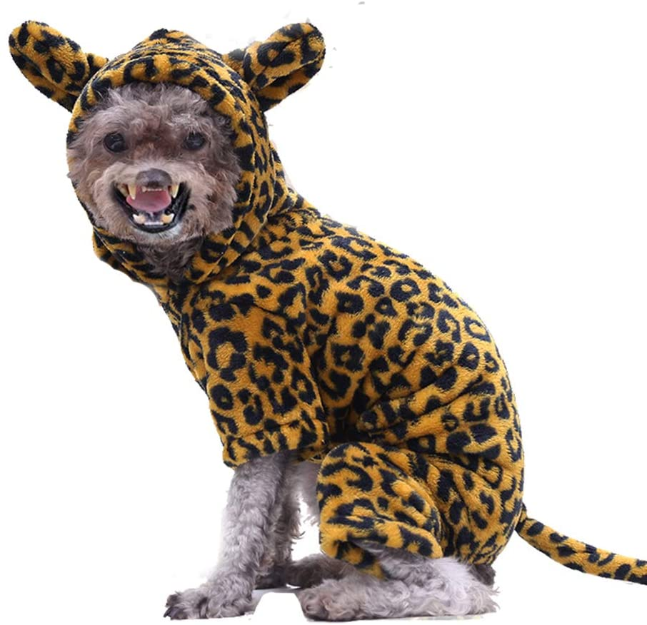 TinFrey Dog Lion Costumes, Halloween Pet Clothes Animal Cosplay Dress Party Pets Outfits Funny Hoodies for Cat Dog Cosplay