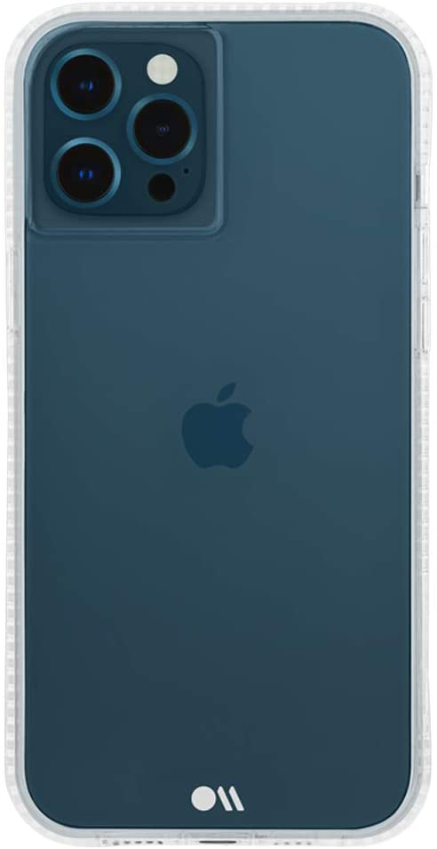 Case-Mate - Tough Plus - Case for iPhone 12 and iPhone 12 Pro (5G) - 15 ft Drop Protection - 6.1 Inch - Clear
