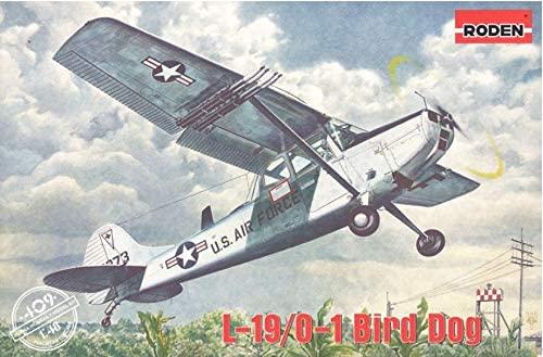 Aircraft Cessna L-19/O-1 - Bird Dog 1/48 Scale Model Roden 409