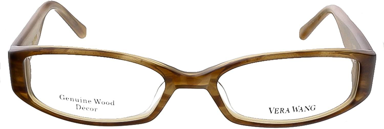 Vera Wang V 033 BR 49 Brown Full Rim Womens Optical Frame for womens