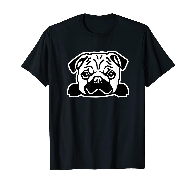Pug head T-Shirt