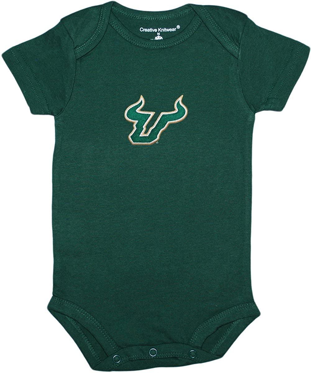 University of South Florida Bulls Horns Baby Bodysuit