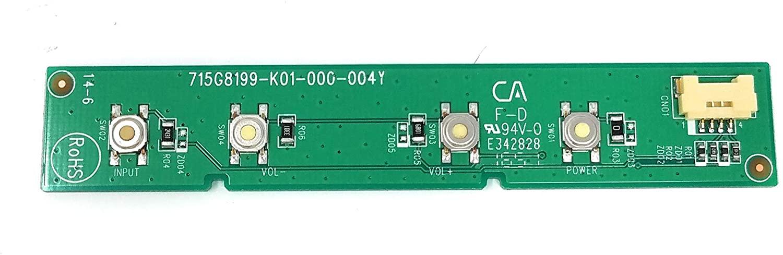 Power Board Model 715G8199-K01-000-004Y for VIZIO Model E55-E1