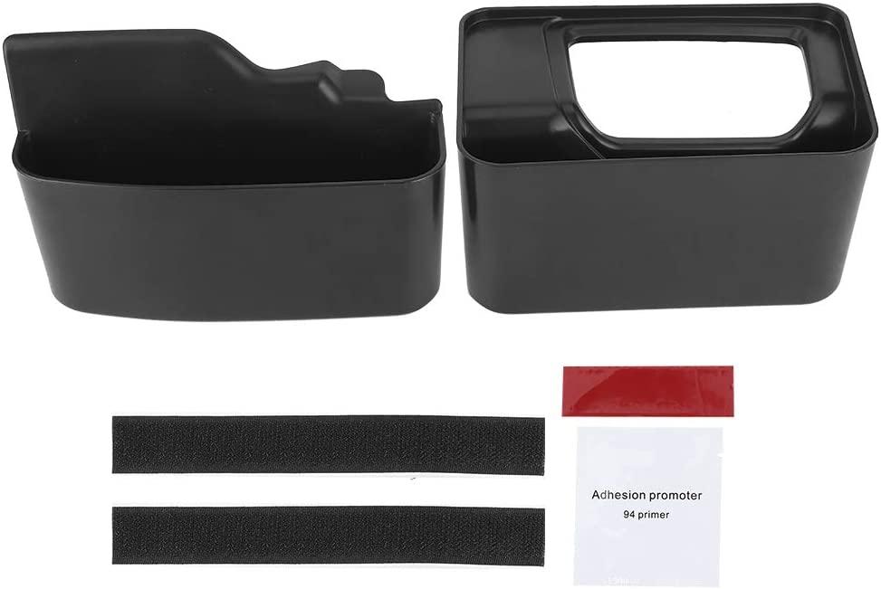 Gear Shift Storage Box,Gear Shift Console Side Storage Box Tray Car Accessory Fit for Jeep Wrangler/Gladiator