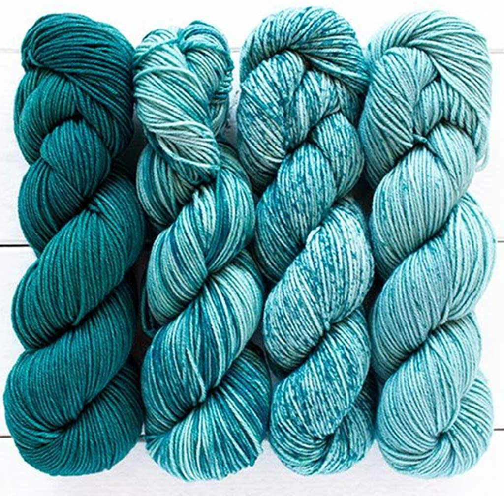Merino Gradient Kit by Urth Yarns (Teals & Turquoise #807)