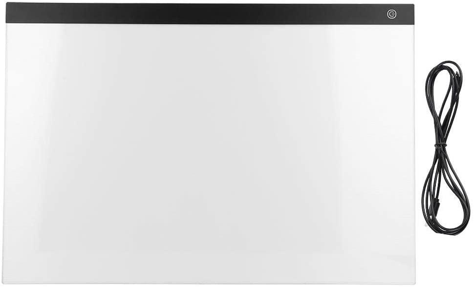 Jadeshay Drawing Board - A2 LED Copy Board Super Thin Light Box Drawing Pad Drawing Copy Pad Table Board