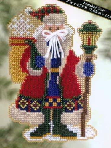 Snow Drift Santa - Cross Stitch Kit