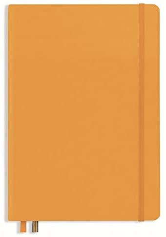 Leuchtturm1917 Rising Colors Special Edition A5 Medium Softcover Notebook with 123 Blank Pages — Raising Sun