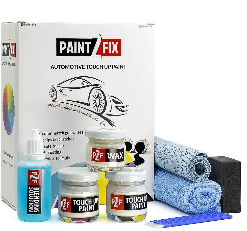 Touch Up Paint for Audi - LY9D Arctic White | Arktisweiss | Paint Scratch Repair Kit - Bronze Pack