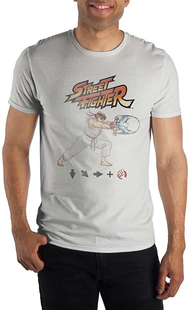 Bioworld Mens Ryu Street Fighter Shirt