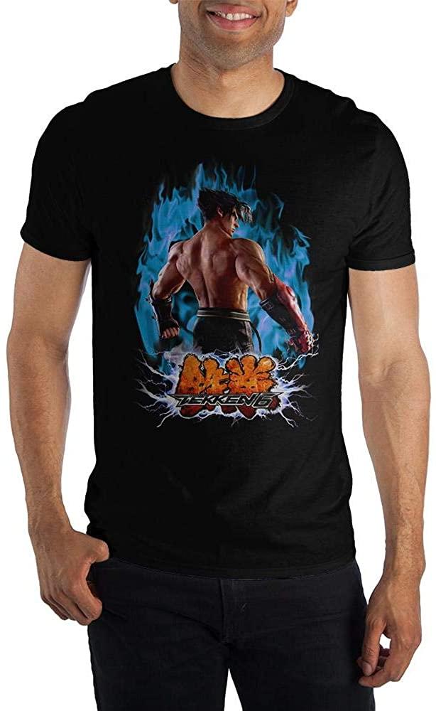 Bioworld Tekken Tshirt Featuring Jin Kazama Tekken Mens Gaming Shirt