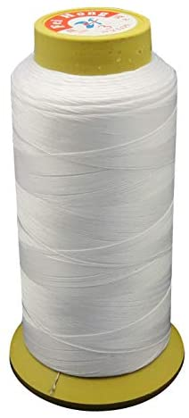 PH PandaHall 5 Spools 200 Yards White Thread Sets Embroidery Thread Nylon Sewing Thread Spools Thread for Hand and Machine Sewing