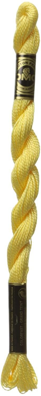 DMC 115 5-727 Pearl Cotton Thread, Very Light Topaz, Size 5