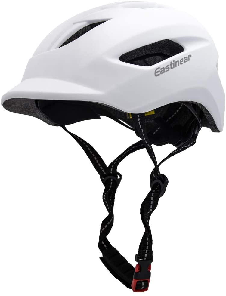 Adult Cycling Mens Womens Mountain Bike Road Commuter Helmet /& Rear LED Light