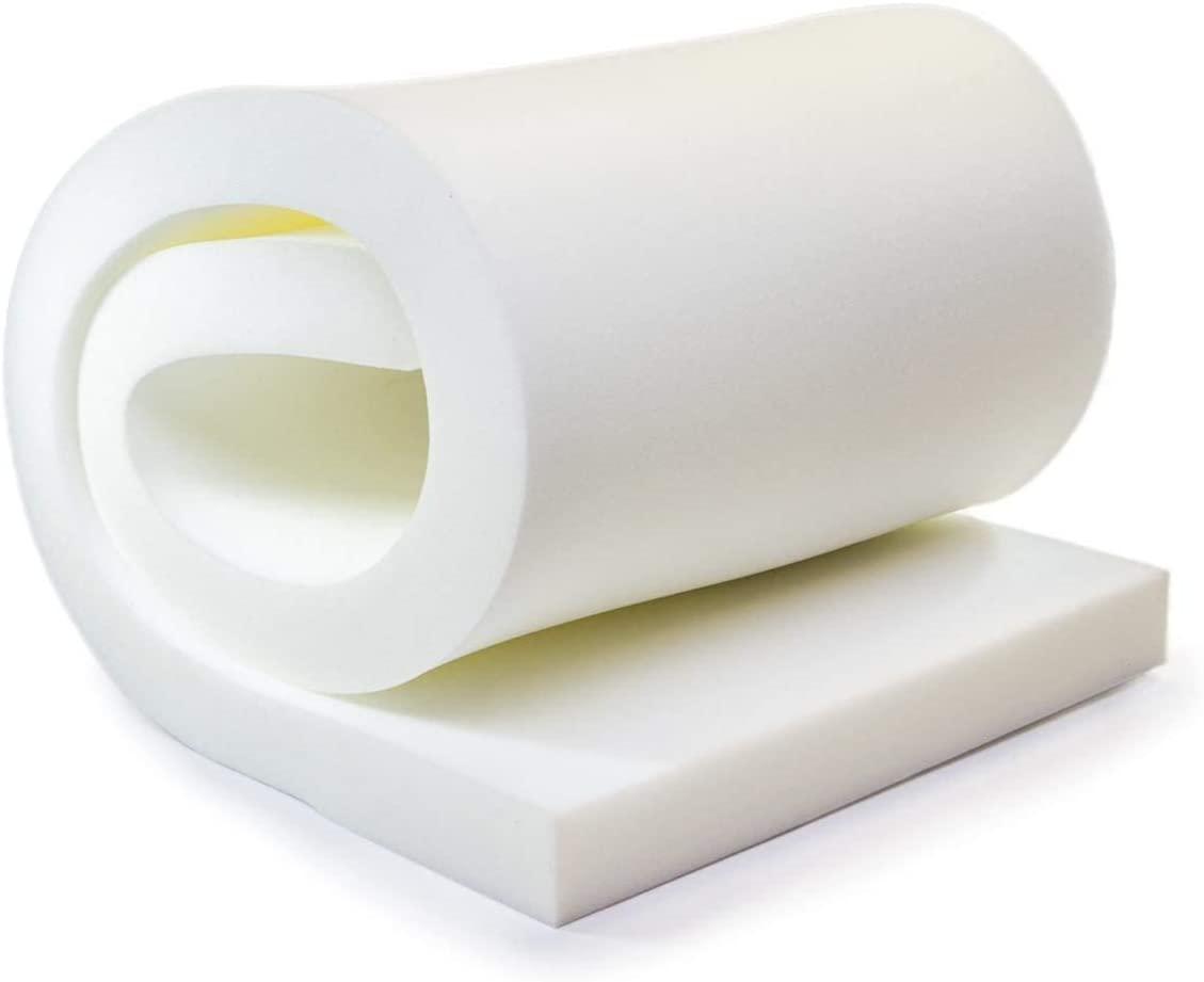 AK TRADING CO Upholstery Foam Cushion (Seat Replacement, Upholstery Sheet, Foam Padding) - 1