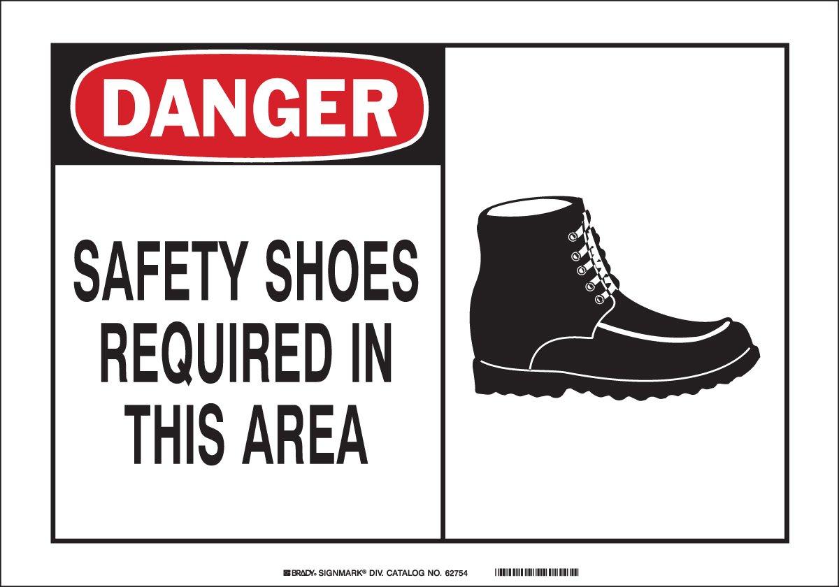 Brady 26546 Plastic Alert Sign, 10
