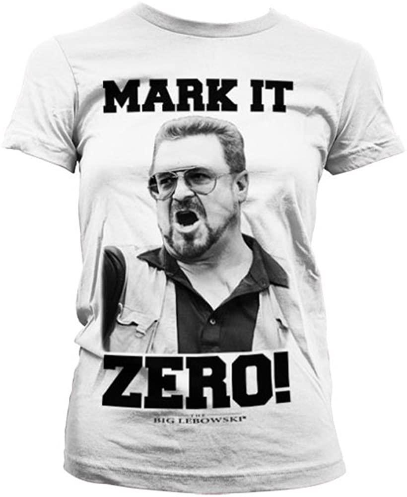 The Big Lebowski Officially Licensed Merchandise Mark It Zero Women T-Shirt