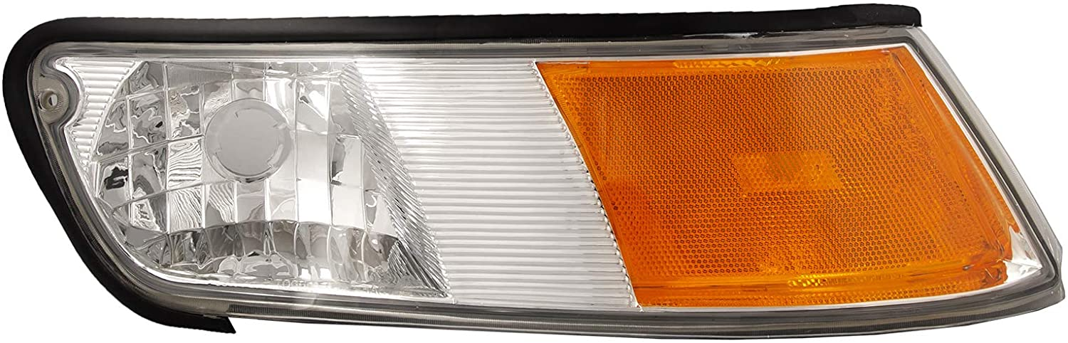 HEADLIGHTSDEPOT Park Signal Marker Light Compatible With Mercury Grand Marquis 1998-2002 Includes Right Passenger Side Signal Light