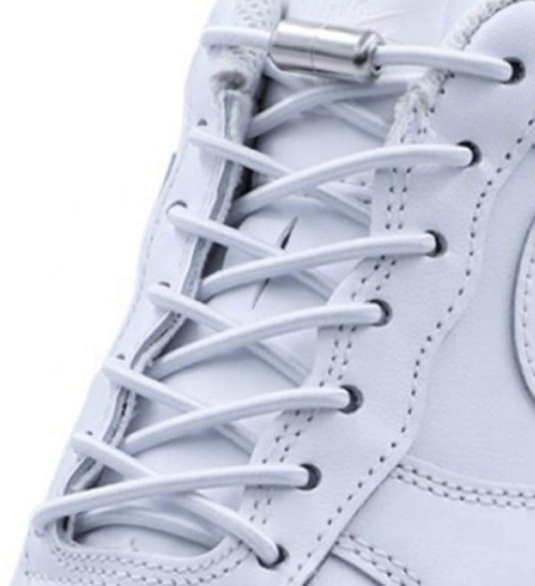 CLOUTMART No Tie Elastic Fashion Shoelaces for Adults and Kids