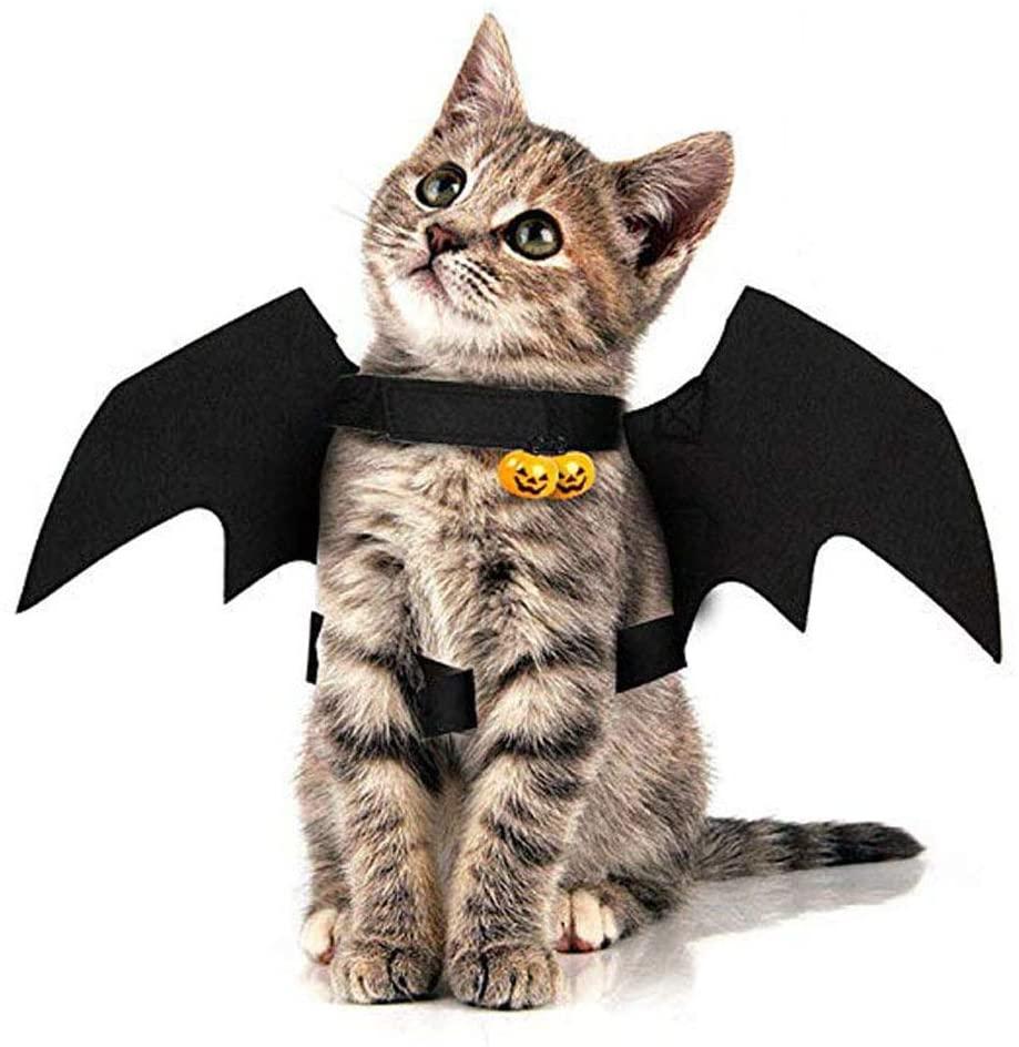 Cat Bat Wings Halloween Pet Bat Wings Cat Dog Bat Costume for Puppy Dog Cat