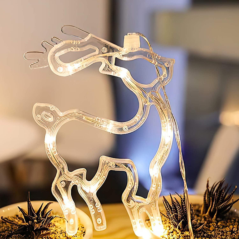 POP MART Reindeer Motif Christmas Lights 8