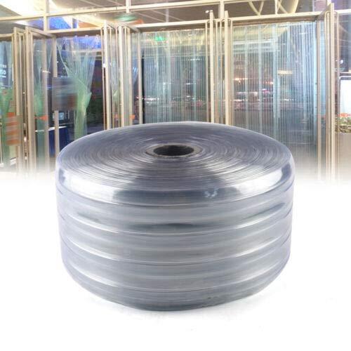 Plastic Strip PVC Plastic Door Strips for Walk in Shopping Mall, Freezers, Coolers & Warehouse Doors (18 x 5000 cm (7.1