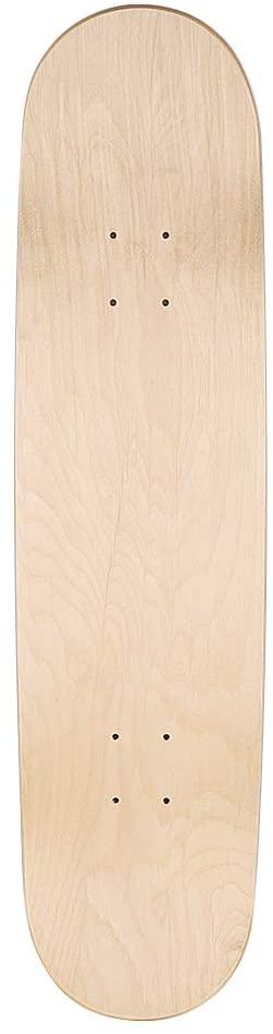 Keecaan Blank Skateboard Decks 7-Ply Maple Skateboard Deck 8.0 Inch