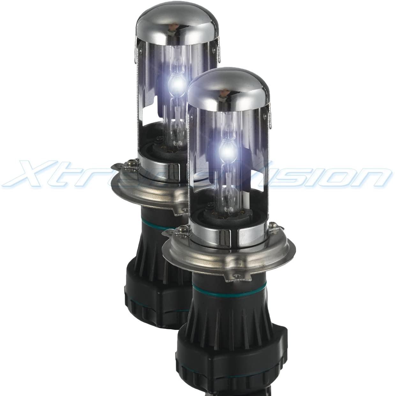 Xtremevision HID Xenon Replacement Bulbs - Bi-Xenon H4 / 9003 5000K - Bright White (1 Pair)
