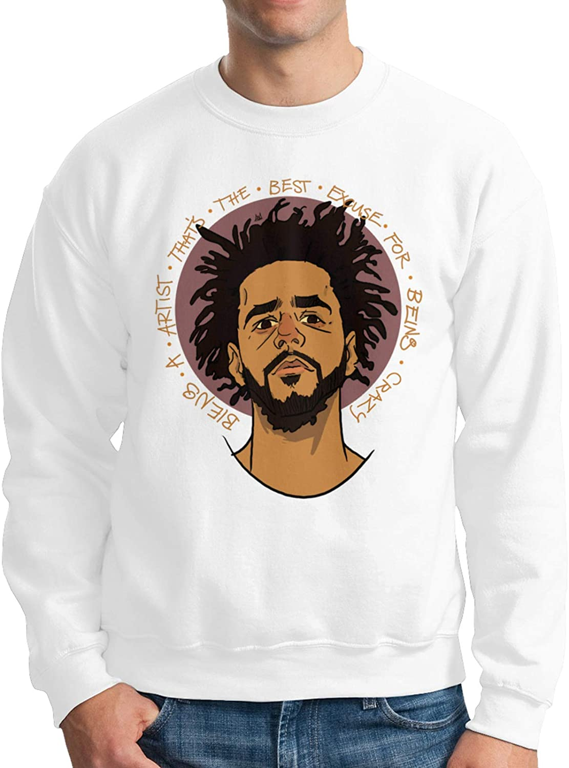 J Cole Man Women's Fashion Round Neck Sweater Sweatshirt