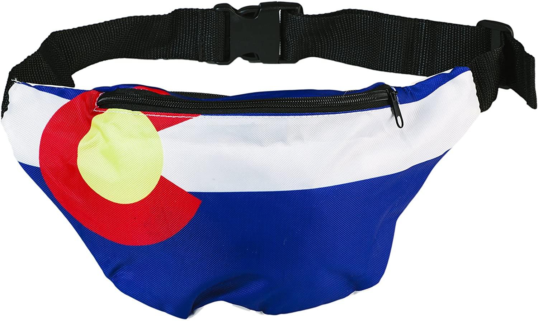 Funny Guy Mugs Premium Flag Fanny Packs (Multiple Styles Available)