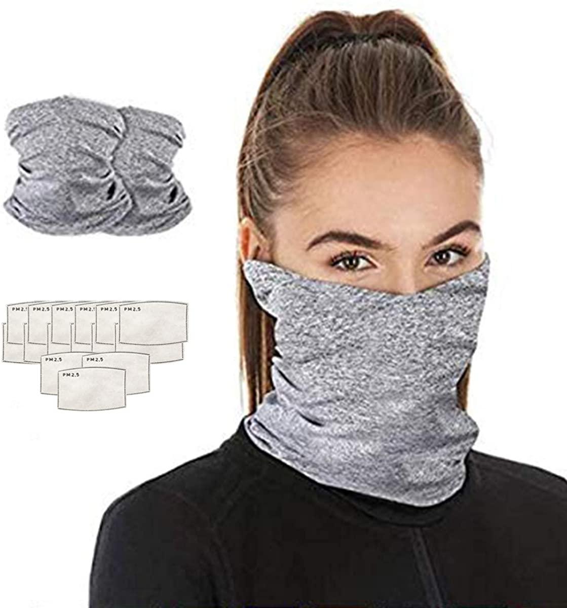 Ainiel Face Cover Scarf Dust Wind Bandana Balaclava Headwear