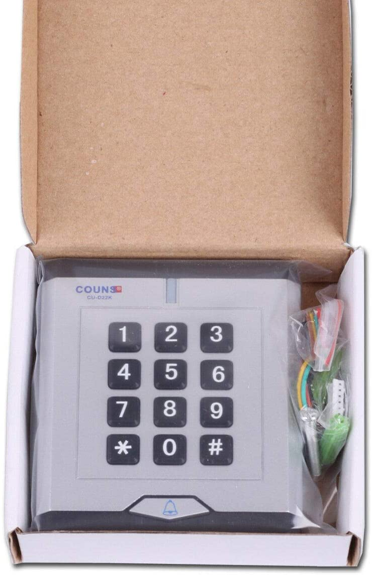 Access Control W26 Keypad with Proximity Card Reader with doorbell Button