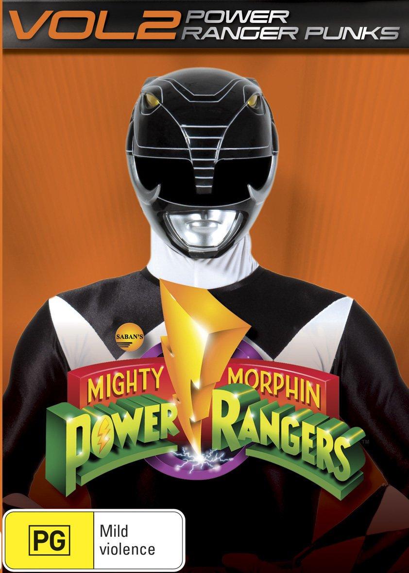 Mighty Morphin Power Rangers Power Ranger Punks Volume 2 | NON-USA Format | PAL | Region 4 Import - Australia