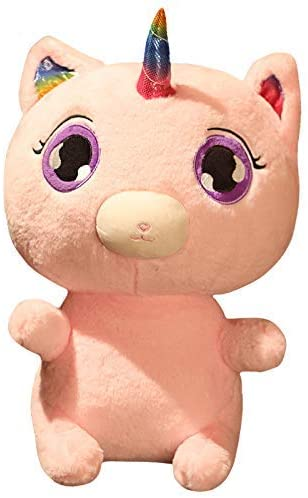 YUNZHI Plush Toys, Giant Unicorn Cat Plush Toy Soft Stuffed Popular Cartoon Unicorn Doll Animal Horse Toy Toys for Children Girls 45cm