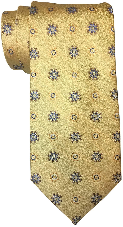 Robert Talbot Best of Class Yellow Medallion Tie