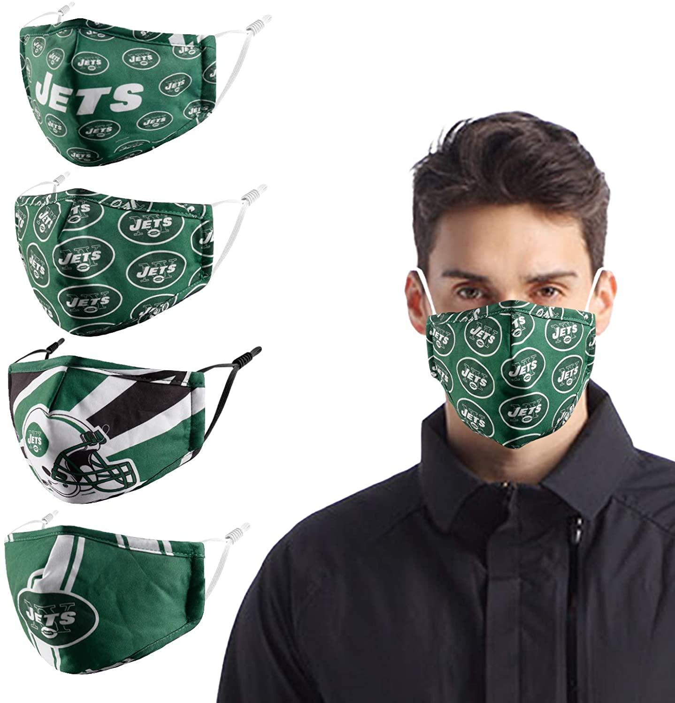 IGINOA Super Bowl Football Team Cloth Design Washable & Reusable Cover for Wearing