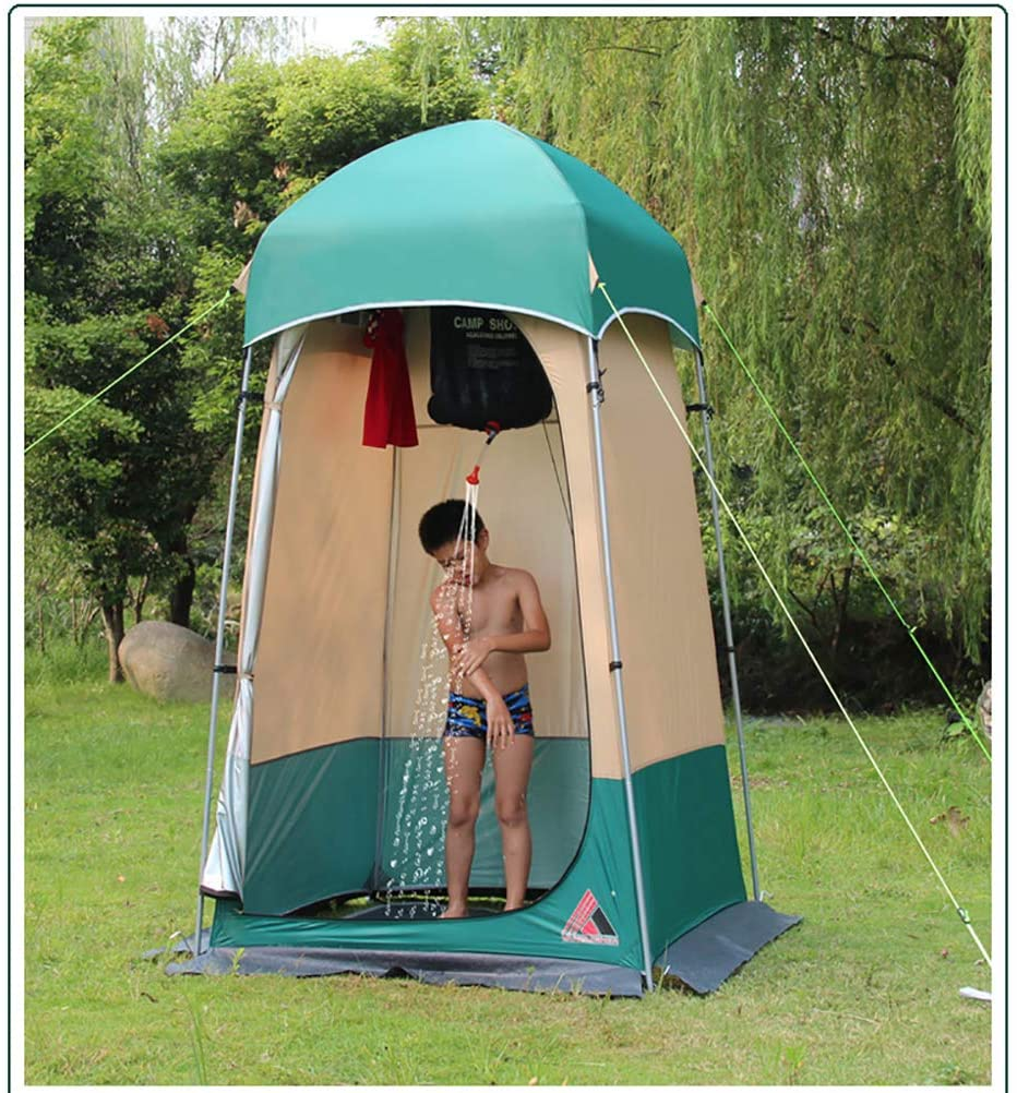 ZEIYUQI Portable Privacy Shower Tent/Bath Shower Shelters Tent/Mobile Dressing Room/for Camping Hiking Traveling Beach