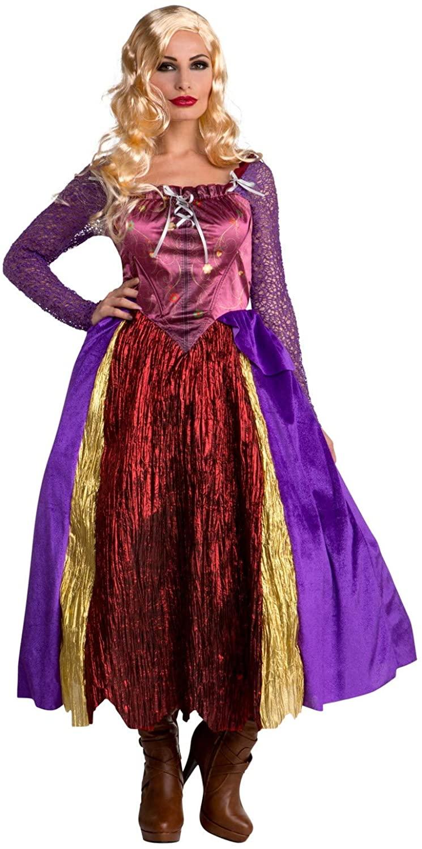 Palamon Women's Salem Sisters Witch Dress Silly Costume
