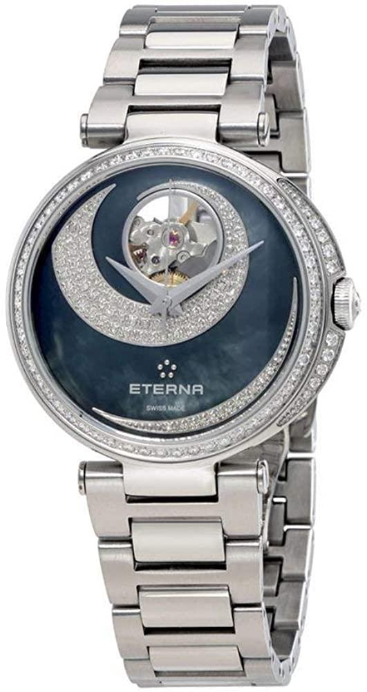 Eterna Grace Open Art Automatic Mother of Pearl Diamond Ladies Watch 2943.58.89.1729