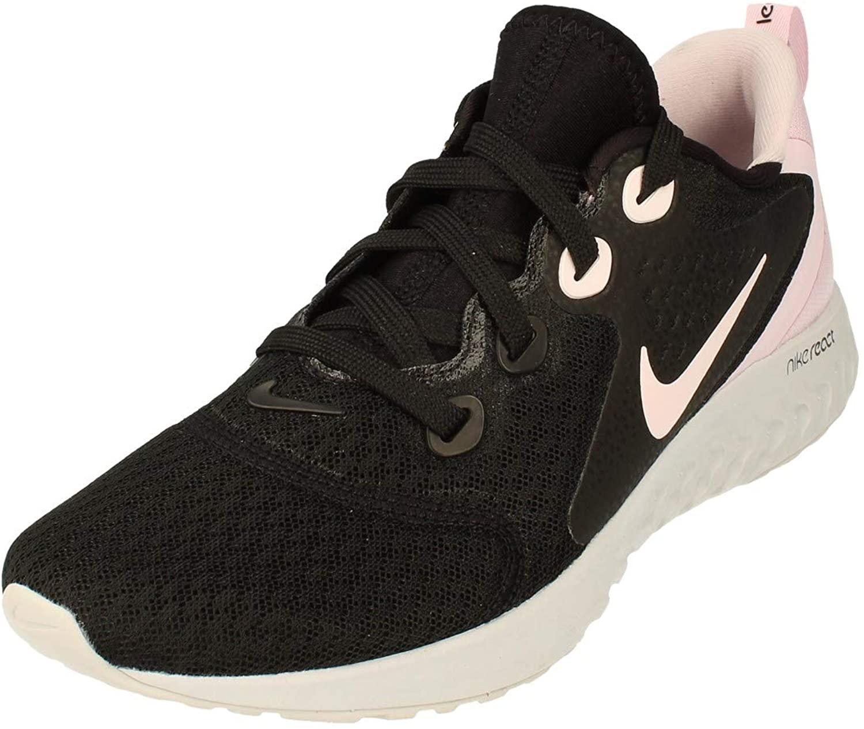 Nike Womens Legend React Running Trainers AA1626 Sneakers Shoes (UK 3 US 5.5 EU 36, Black Pink Grey 007)