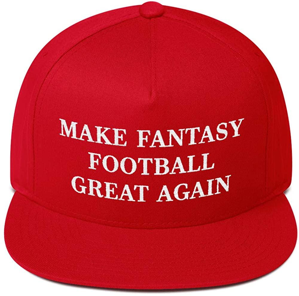 Hogue WS LLC Make Fantasy Football Great Again Hat (Embroidered Snapback Cap) FFL MAGA Parody