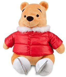 Official Disney Limited Edition 2011 Ice Skating Pooh Plush Toy -- 18'' H