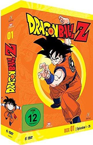 DRAGONBALL Z BOX 01 - VARIOUS [DVD] [1989]