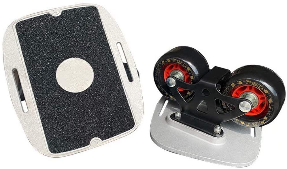Freeline Skates Skateboard Beginner- Drift Skates Plate Split, Portable Runway Skateboard Drift Board,2MM Shock Absorbing Gasket Design