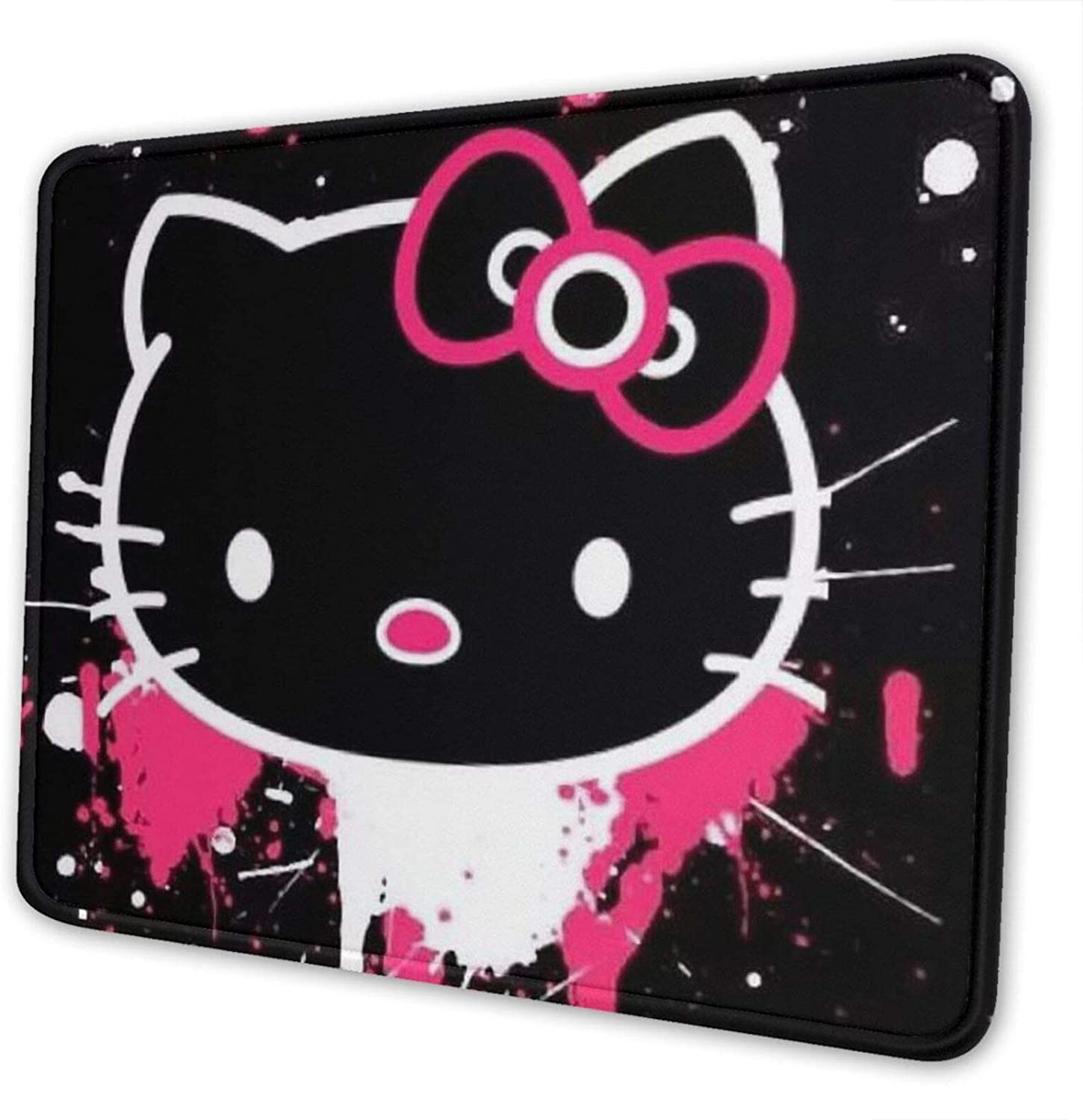 Hello Kitty Mouse Pad, Used for Office and Home Games, Washable Textured Mouse Pad7 X 8.6 in