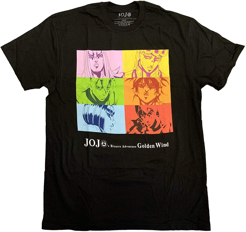 JoJo's Bizarre Adventure Group Anime Officially Licensed Adult T-Shirt