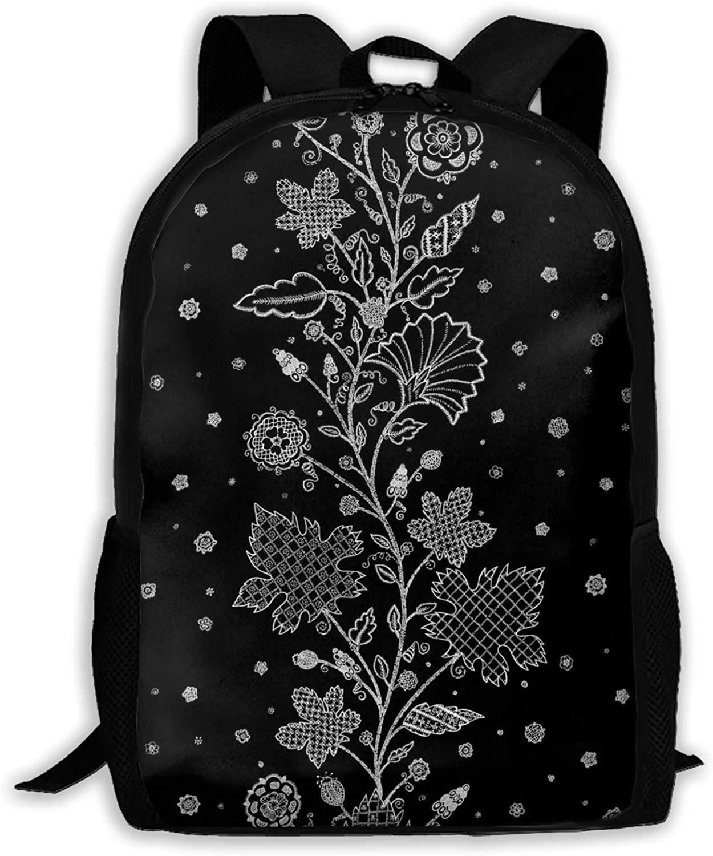 Stitch-37 Lightweight Backpack Briefcase Laptop Shoulder Bag Basic Water Resistant Daypack Bag