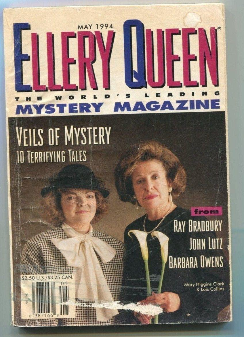 Ray Bradbury The Very Gentle Murders Signed Autograph Ellery Queen Magazine - Autographed MLB Magazines