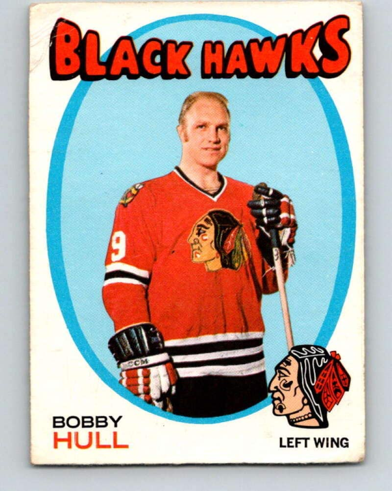(HCW) V9115-1971-72 O-Pee-Chee #50 Bobby Hull Chicago Blackhawks
