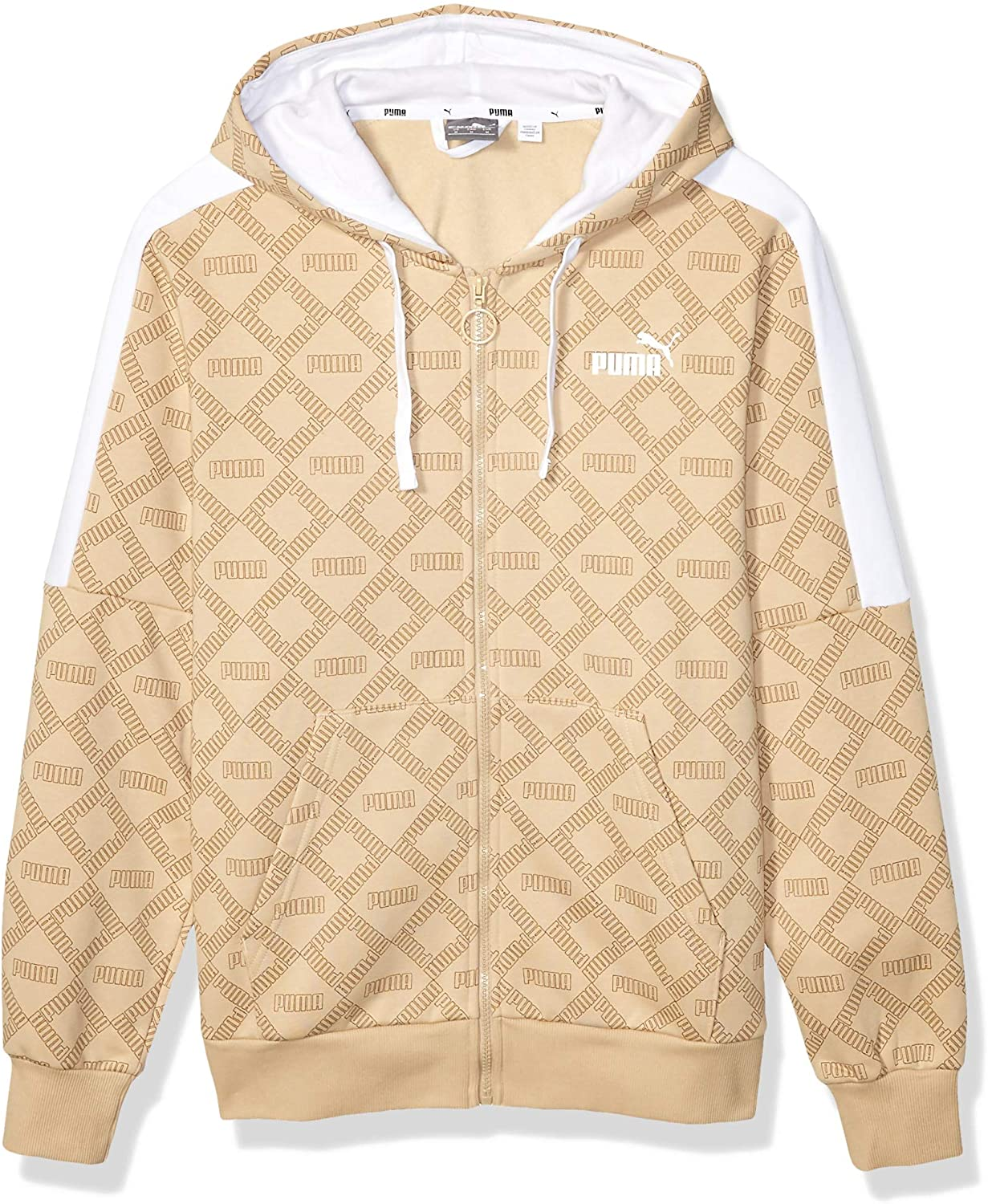 PUMA Mens Logo All Over Print Pack Hoodie